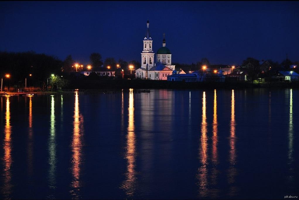 Волга - вид с набережной