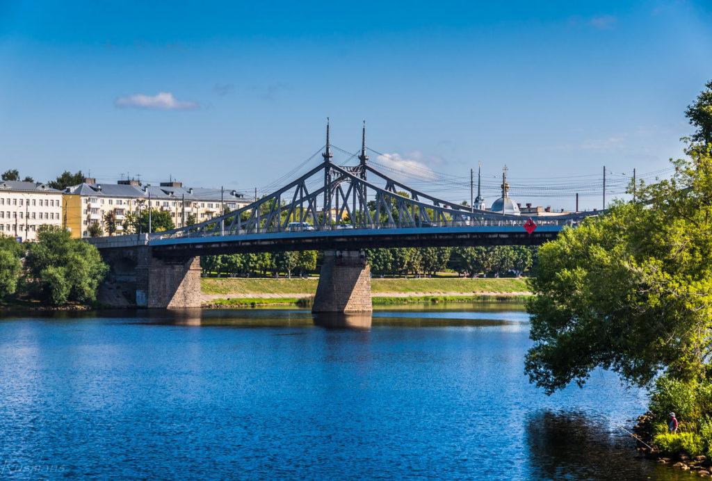 Старый мост в Твери