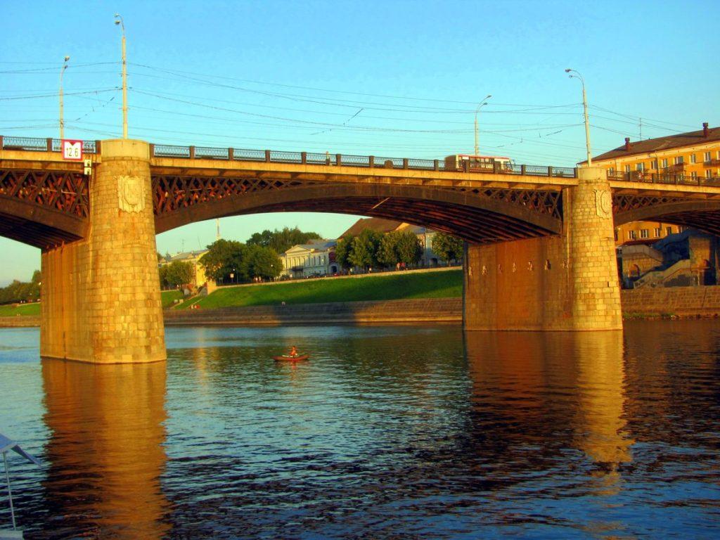 Новый мост в Твери