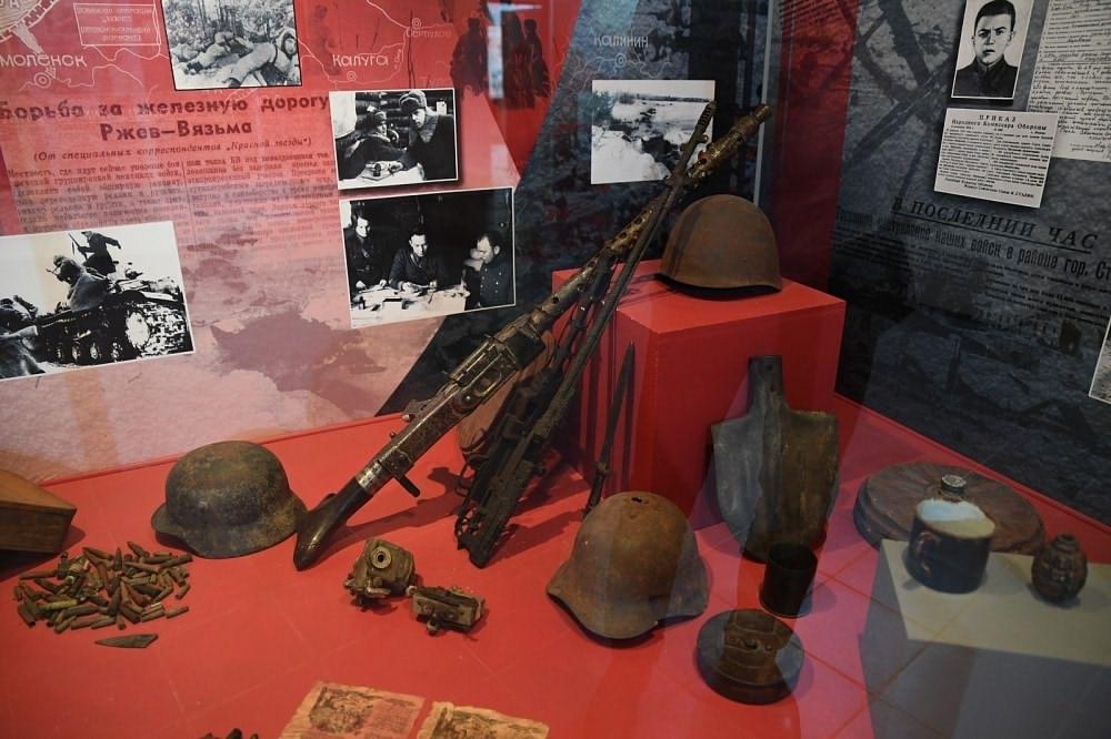 Экспозиция музея Калининского Фронта