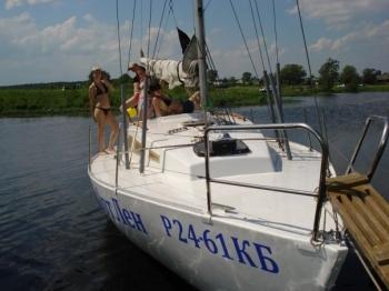Отдых на яхте в устье Орши